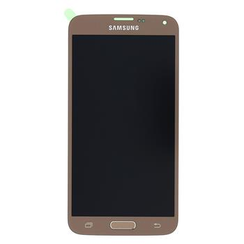 LCD display + Dotyk Samsung G903 Galaxy S5 Neo Gold (Service Pack)