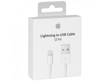 MD819 iPhone 5 Lightning Datový Kabel White (EU Blister)