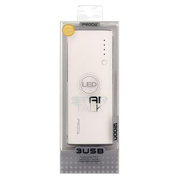Remax PPP-11 Proda Star Talk PowerBank 12000mAh Li-Pol White/Grey (EU Blister)