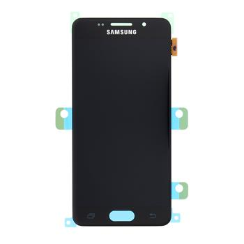 LCD display + Dotyk Samsung A310 Galaxy A3 2016 Black (Service Pack)