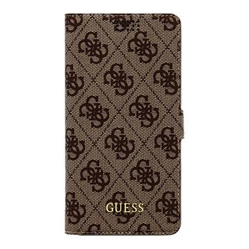 GUBKXLT4GB Guess 4G Book Universal Pouzdro Brown vel. XL