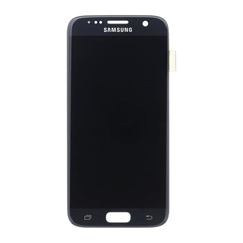 LCD display + Dotyk Samsung G930 Galaxy S7 Black (Service Pack)