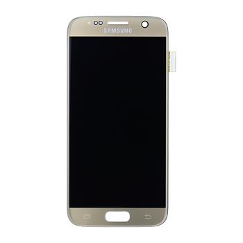 LCD display + Dotyk Samsung G930 Galaxy S7 Gold (Service Pack)