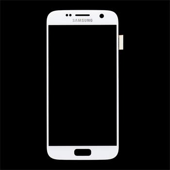 LCD display + Dotyk Samsung G930 Galaxy S7 White (Service Pack)