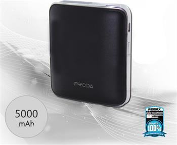 Remax PPL-21 MInk PowerBank 5000mAh Li-Pol Black (EU Blister)