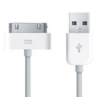 iPhone Datový Kabel White 2M OEM (Bulk)