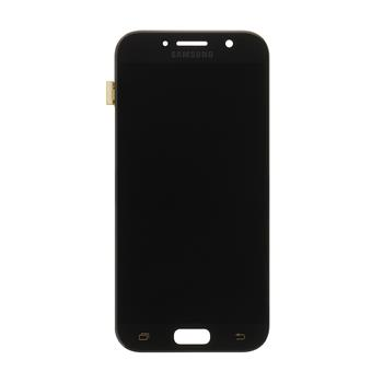 LCD display + Dotyk Samsung A520 Galaxy A5 2017 Black (Service Pack)