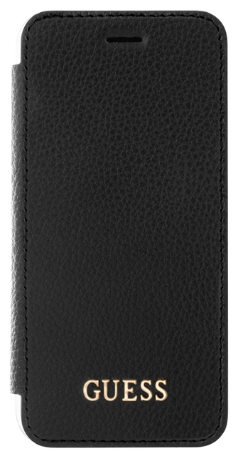 GUFLBKP7IGLTBK Guess IriDescent Book Pouzdro Black pro iPhone 7/8