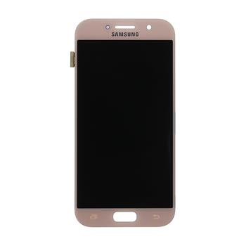 LCD display + Dotyk Samsung A520 Galaxy A5 2017 Pink (Service Pack)
