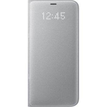 EF-NG955PSE Samsung LED View Case Silver pro G955 Galaxy S8 Plus (EU Blister)