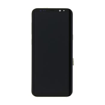 LCD display + Dotyk Samsung G955 Galaxy S8 Plus Gold (Service Pack)