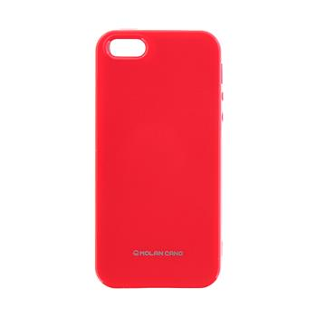 Molan Cano Jelly TPU Kryt pro iPhone 5/5S/SE Hot Pink