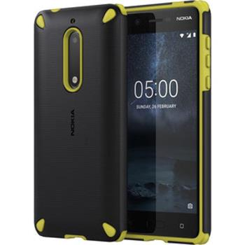 CC-502 Nokia Rugged Impact Case pro Nokia 5 Lemon Black (EU Blister)