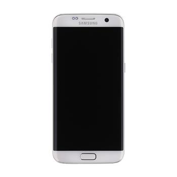 LCD display + Dotyk + Přední kryt + Baterie Samsung G935 Galaxy S7 Edge White (Service Pack)