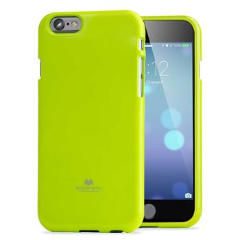Mercury Fluorscence Jelly Case pro iPhone 6/6S Lime