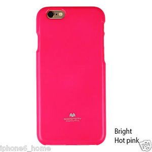 Mercury Fluorscence Jelly Case pro iPhone 6/6S Hot Pink