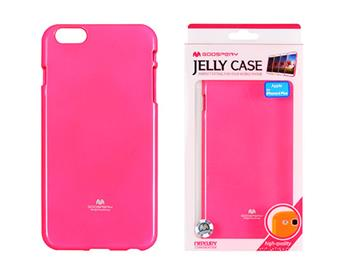 Mercury Fluorscence Jelly Case pro iPhone 6/6S Plus Hot Pink