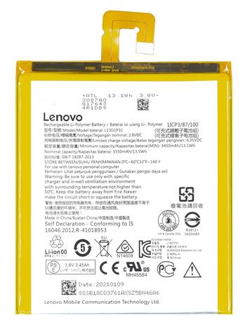 Lenovo L13D1P31 Original Baterie 3550mAh Li-Pol (Bulk)