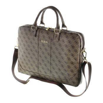 """GUCB154GB Guess 4G UpTown Computer Bag 15"""" Brown"""