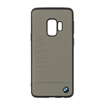 BMHCS9LLST BMW Signature Real Leather Hard Case Taupe pro Samsung G960 Galaxy S9