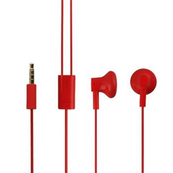WH-108 Nokia Stereo 3,5mm Headset Red (Bulk)