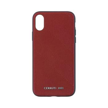 CEHCPXPSHBRE CERRUTI Leather Hard Case Burgundy pro iPhone X / XS