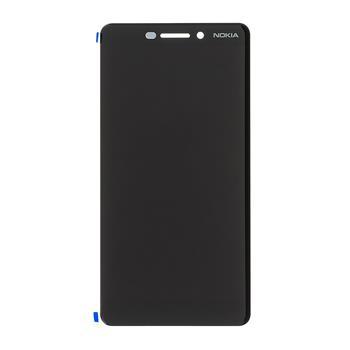 Nokia 6.1 Dotyková Deska + LCD Display Black
