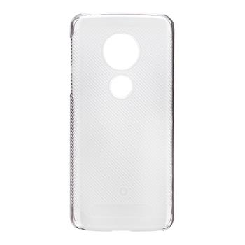 Made by Motorola Crystal Soft Pouzdro Transparent pro Motorola E5 (EU Blister)