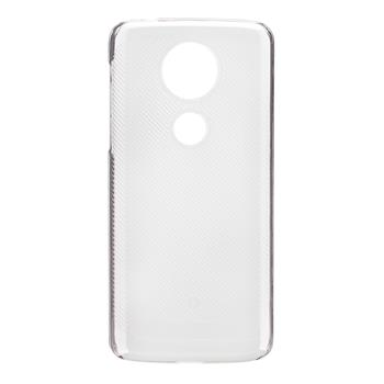 Made by Motorola Crystal Soft Pouzdro Transparent pro Motorola E5 Plus (EU Blister)