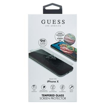 GUTGMPXTR Guess Tvrzené Sklo Invisible Logo pro iPhone X/XS