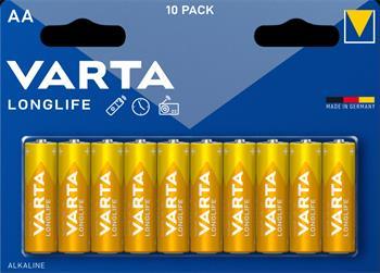 Varta Longlife AA Baterie 10ks (EU Blister)