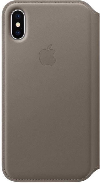 MQRY2ZM/A Apple Flip Cover Taupe pro iPhone X/XS