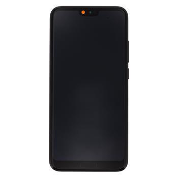 Honor 10 LCD Display + Dotyková Deska + Přední Kryt Black