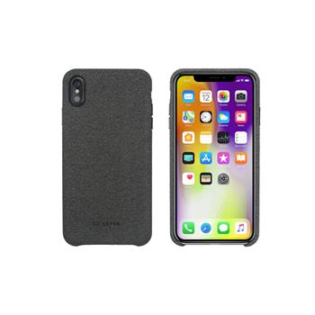 SoSeven Premium Gentleman Case Fabric Grey Kryt pro iPhone XS Max
