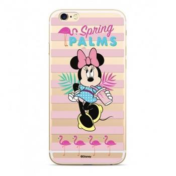 Disney Minnie 028 Back Cover Transparent pro iPhone XS Max