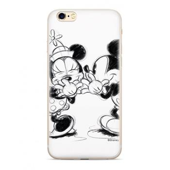 Disney Mickey & Minnie 010 Back Cover White pro iPhone 5/5S/SE