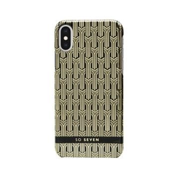 SoSeven Fashion Paris Black/Gold Cover pro iPhone X/XS