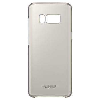 EF-QG950CFE Samsung Clear Cover Gold pro G950 Galaxy S8 (Pošk. Blister)