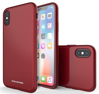 Molan Cano Jelly TPU Kryt pro Samsung Galaxy S10 Plus Red