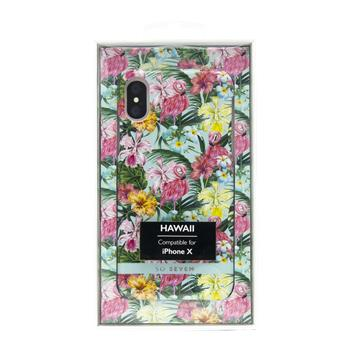 SoSeven Hawai Case Tropical Flamingo Kryt pro iPhone X/XS