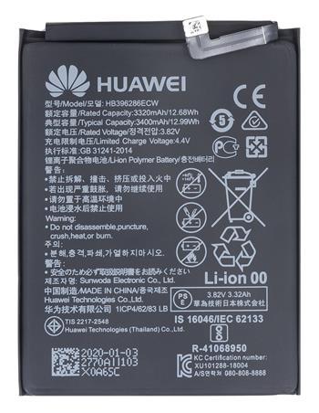 HB396286ECW Huawei Baterie 3400mAh Li-Ion (Bulk)