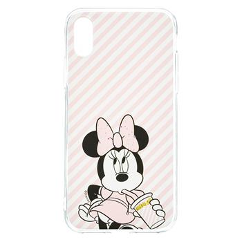 Disney Minnie 017 Back Cover Pink pro iPhone X