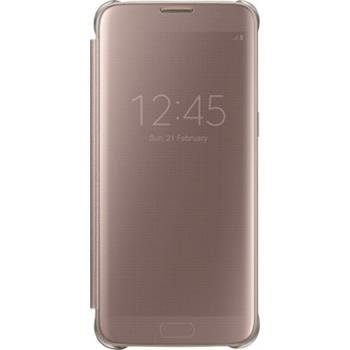 EF-ZG935CZE Samsung Clear View Pouzdro Rose Gold pro G935 Galaxy S7 Edge (Pošk. Blister)