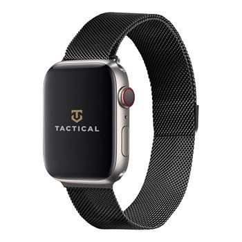 Tactical 333 Loop Magnetický Kovový Řemínek pro Apple Watch 1/2/3/4/5/6/SE 38/40mm Black