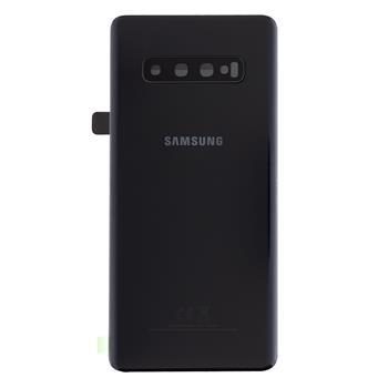 Samsung G975 Galaxy S10+ Kryt Baterie Prism Black (Service Pack)