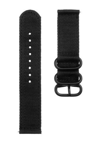 Tactical 391 Nylon Řemínek 20mm Black