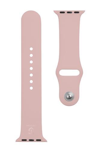 Tactical 484 Silikonový Řemínek pro iWatch 4 40mm Pink