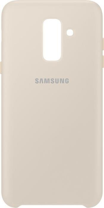 EF-PA605CFE Samsung Dual Layer Cover Gold pro Galaxy A6 Plus 2018 (Pošk. Blister)