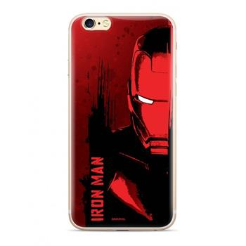 MARVEL Iron Man 004 Zadní Kryt pro Huawei Y6 2019 Red