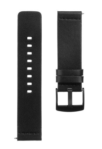 Tactical 307 Kožený Řemínek 22mm Black